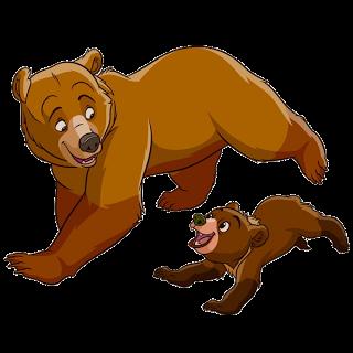 320x320 Photos Mom And Baby Bear Clipart,