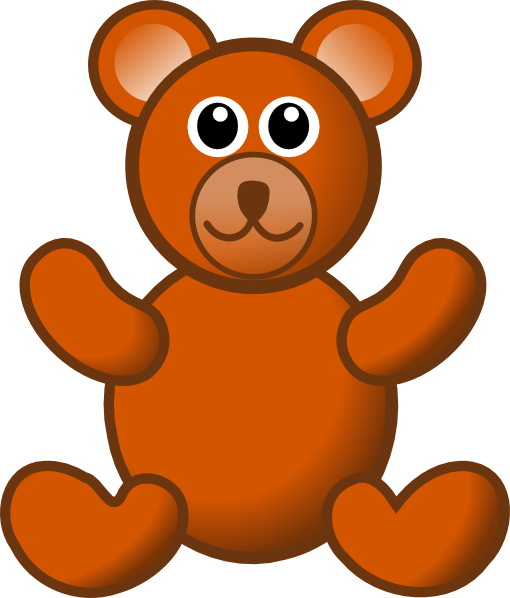510x598 Teddy Bear Clip Art Free Clipart Clipartwiz 3