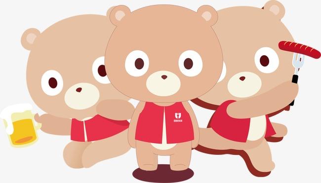 650x371 Winnie The Three Musketeers, Bear, Cartoon, Three Bears Png Image