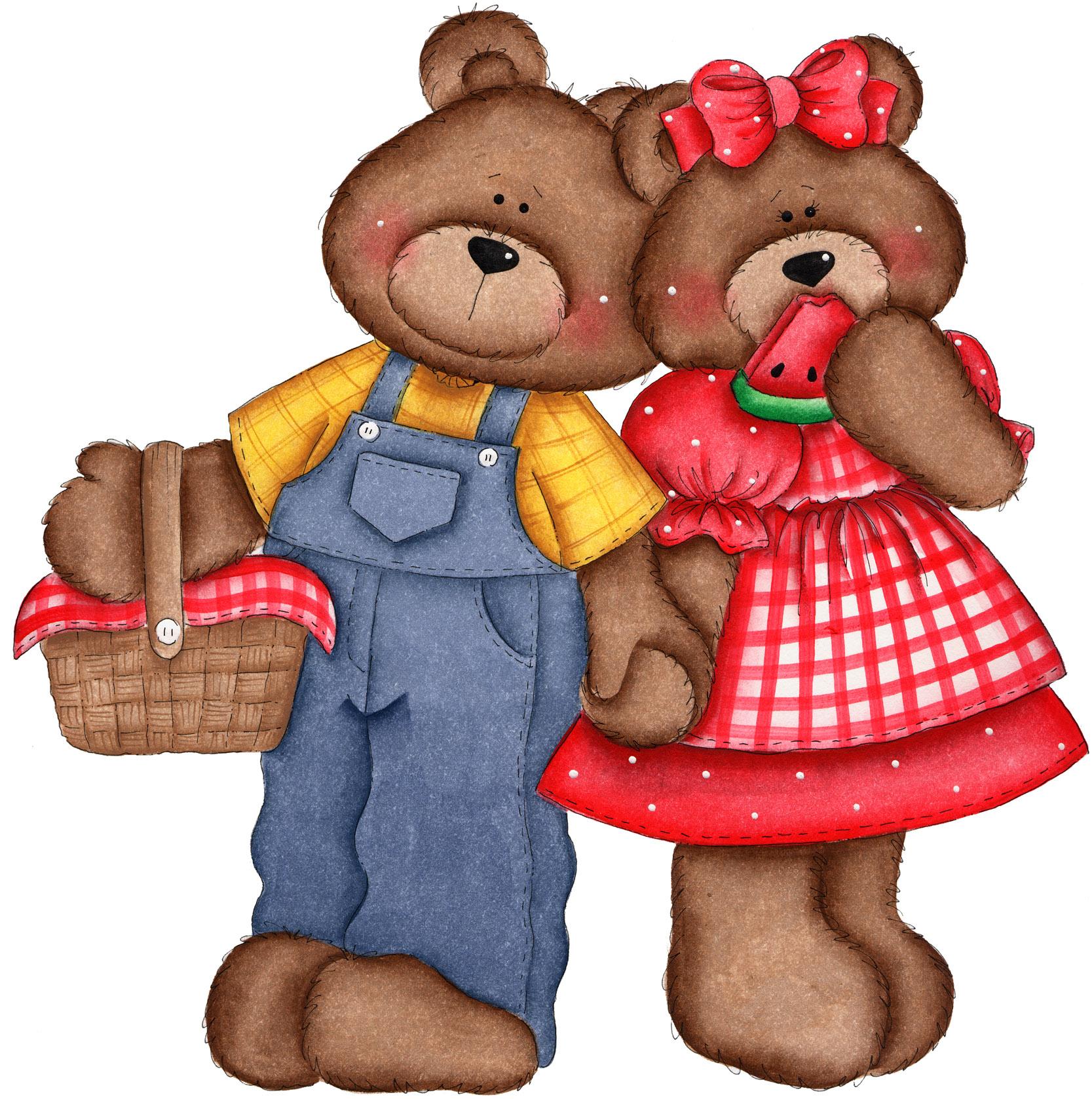 1667x1677 Bear Clipart Kindergarten