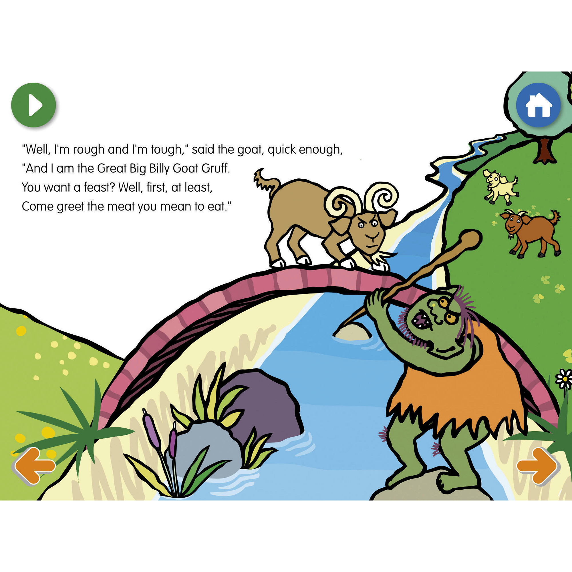 2000x2000 The Billy Goats Gruff App