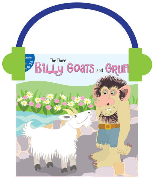519x600 The Three Billy Goats And Gruff (Audio File) Rourke