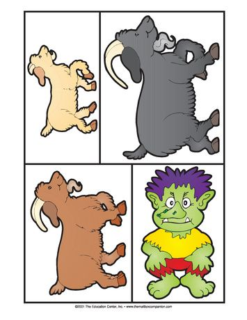 355x460 Three Billy Goats Gruff, Lesson Plans