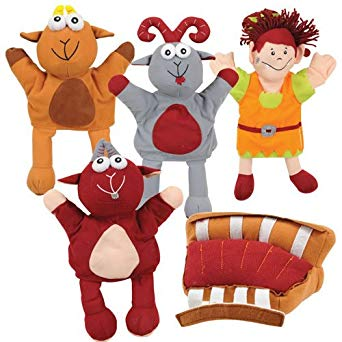 342x342 The Three Billy Goats Gruff Puppets Industrial