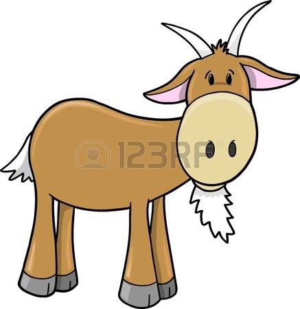 437x450 Billy Goat Clipart Chivo