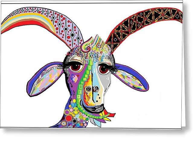 646x470 Billy Goat Gruff Greeting Cards Fine Art America