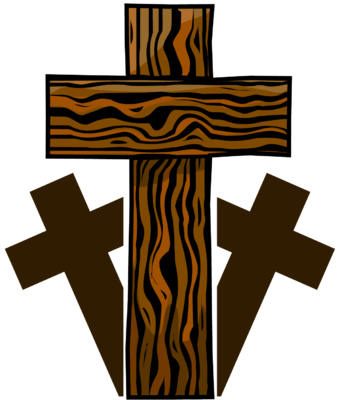340x400 Image Three Wooden Crosses Cross Image