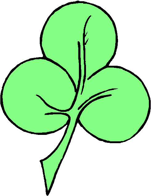 490x638 Free Clover Clipart