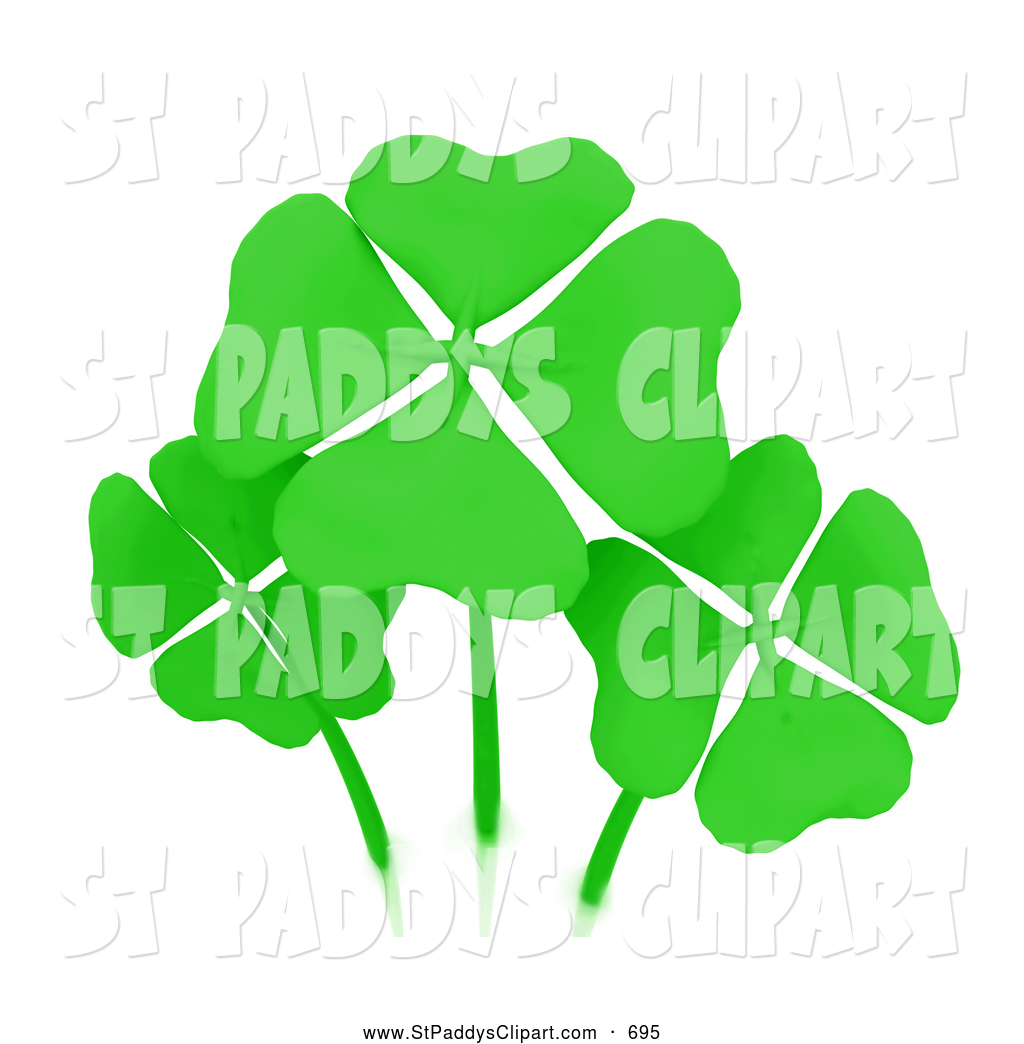 1024x1044 Royalty Free Four Leaf Clover Stock St. Paddyamps Day Designs