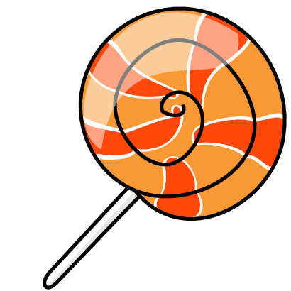 410x410 Free Lollipop Clipart Clipartmonk