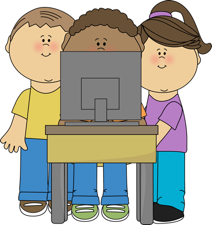 425x450 Kids Computers Clipart Collection