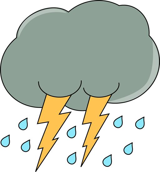 Thunder And Lightning Clipart