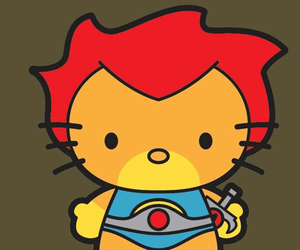 960x800 Thunder Kitty Hello Kitty Kitty And Hello Kitty