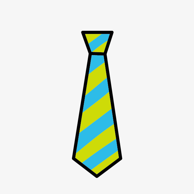 625x624 Color Cartoon Tie, Cartoon Tie, Striped Tie, Tie Png Image