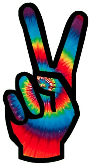 296x550 Peace Sign (Tie Dye) Photographic Prints By James Watson Redbubble