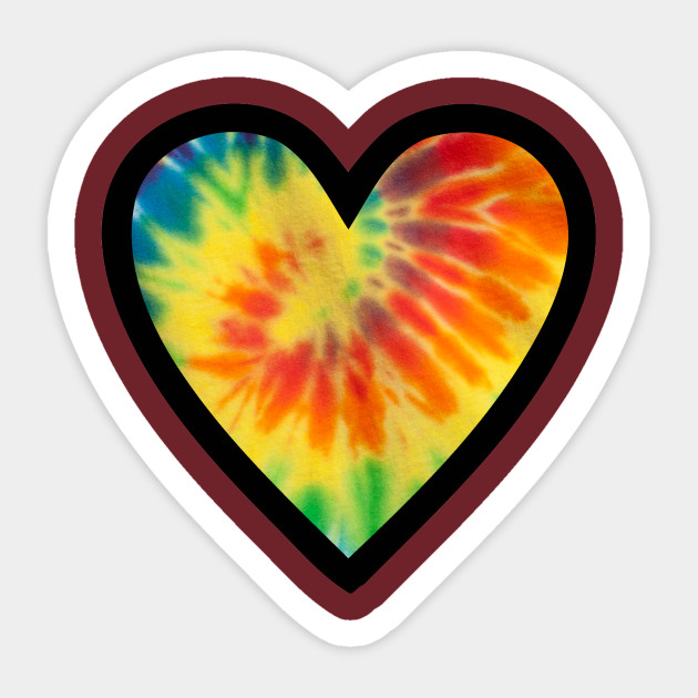630x630 Tie Dyed Heart