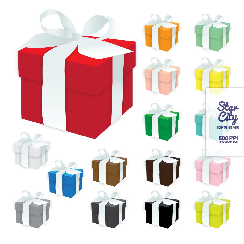 1500x1500 Gift Box Clip Art, Box Clipart, Present Clipart, Gift Clipart