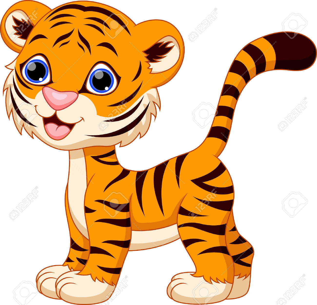 tiger clipart at getdrawings com free for personal use tiger rh getdrawings com Cute Tiger Clip Art baby tiger face clipart