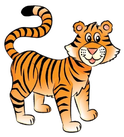 400x442 Collection Of Tiger Easy Drawing For Kids High Quality, Free