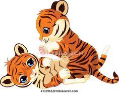 236x185 Cute Little Tiger Png Cartoon Sleeve Pattern