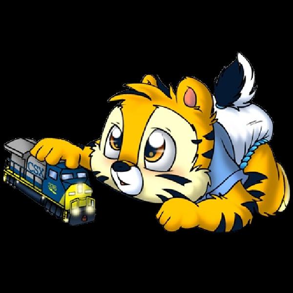 600x600 Funny Tiger Cubs