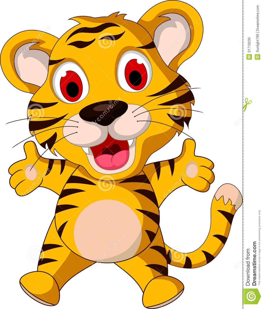 1112x1300 Classy Design Cute Tiger Clip Art Vector Picture Of A Very Baby