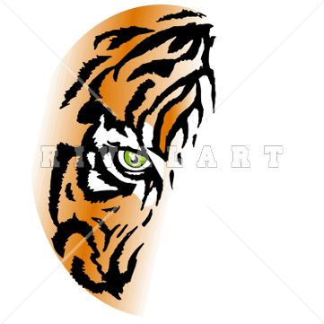 Tiger Face Clipart