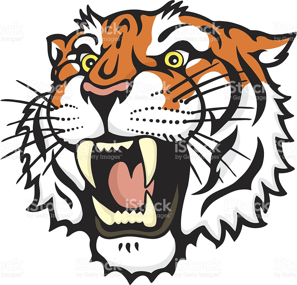 1024x981 Collection Of Tiger Roaring Clipart High Quality, Free