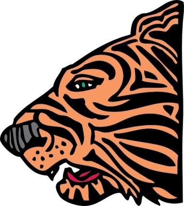 380x425 Tiger Head Clip Art Clip Arts, Free Clipart