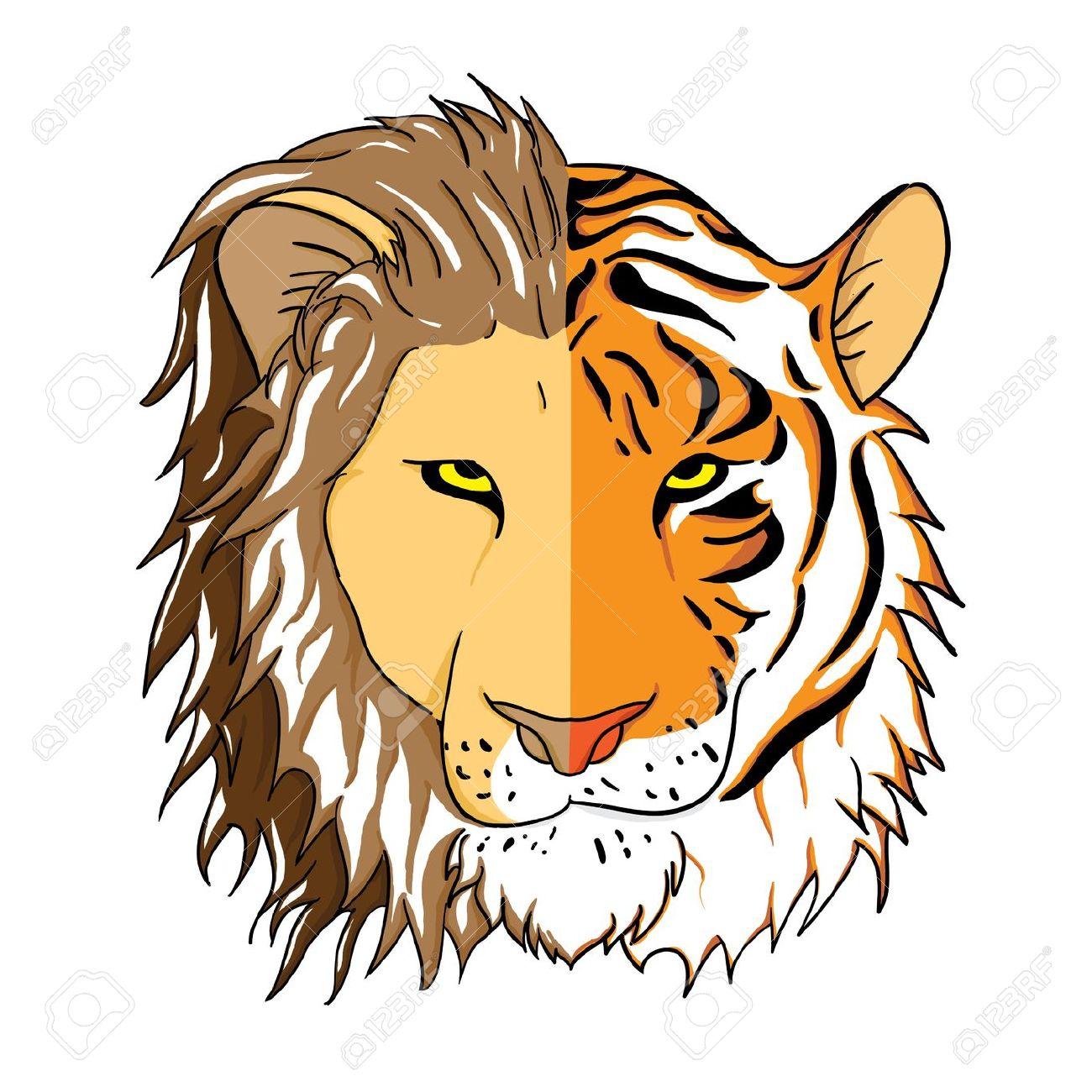 1300x1300 Tiger Clipart