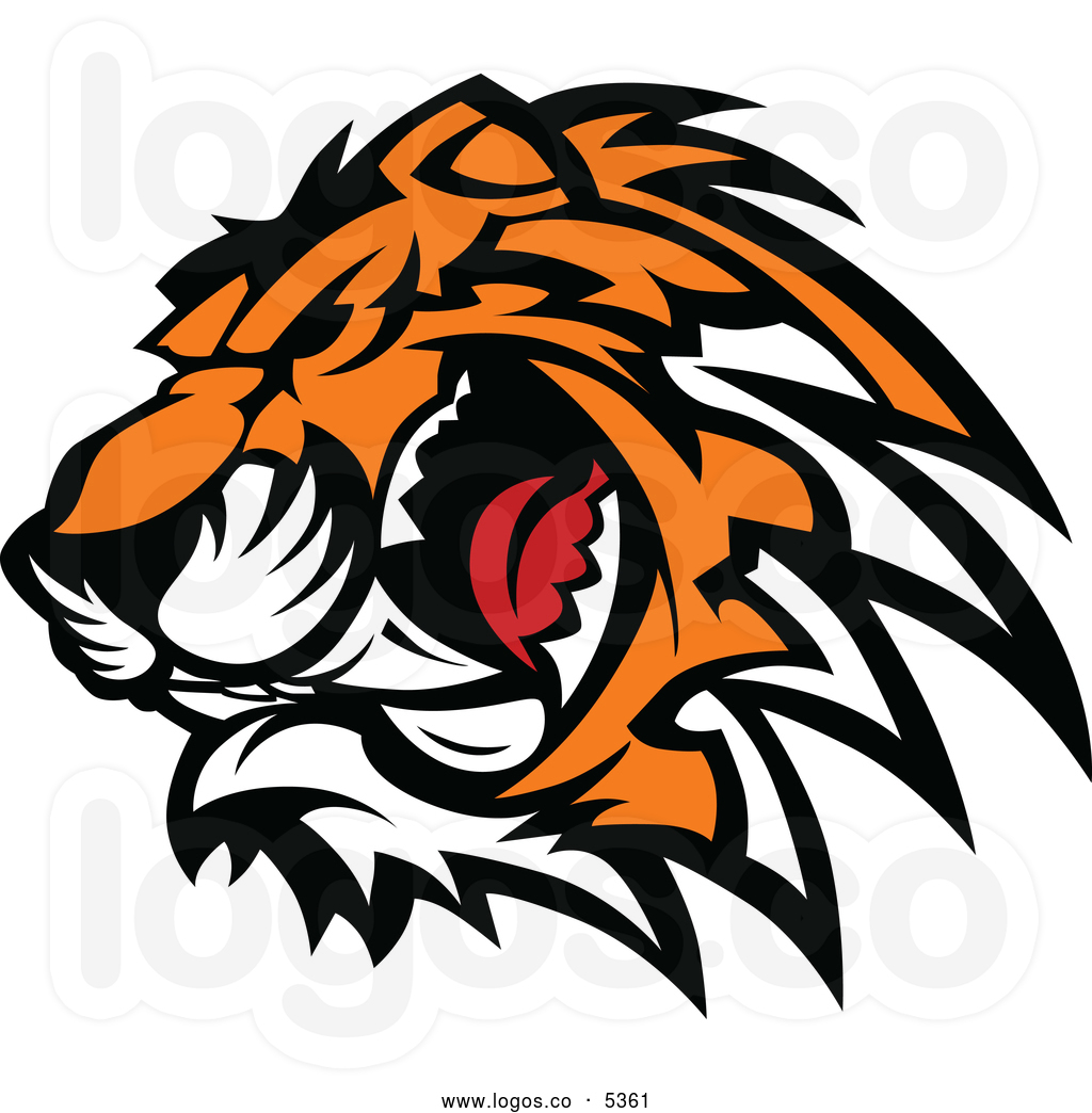 1024x1044 Tiger Head Logo Clipart Free Collection