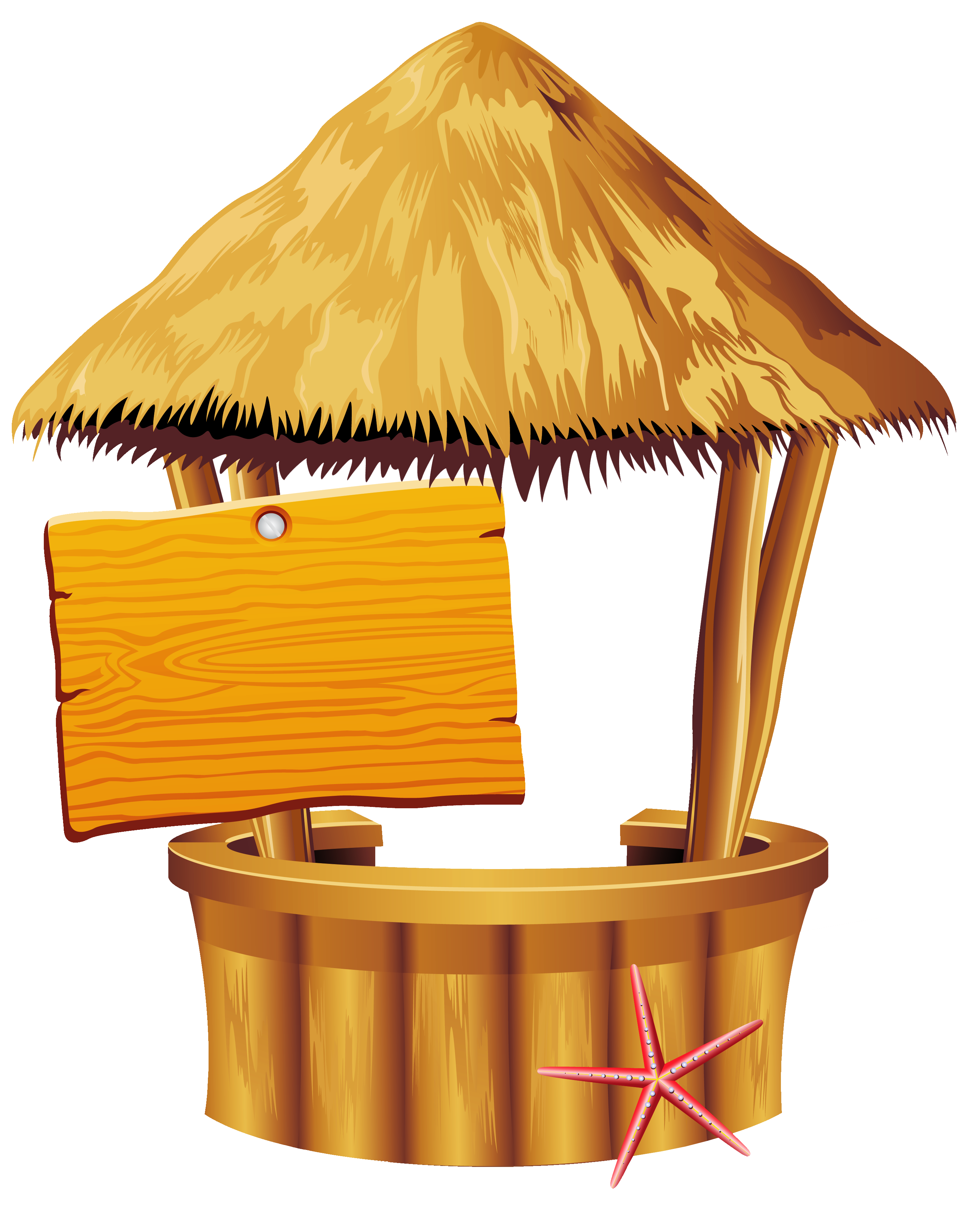 2998x3716 Hawaiian Beach Tiki Bar Png Clipart Bampf Woody Tiki