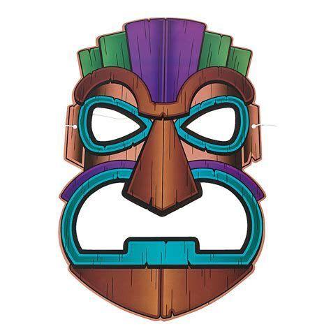 474x474 Resultado De Imagen De Tiki Mask Clip Art Bricolaje