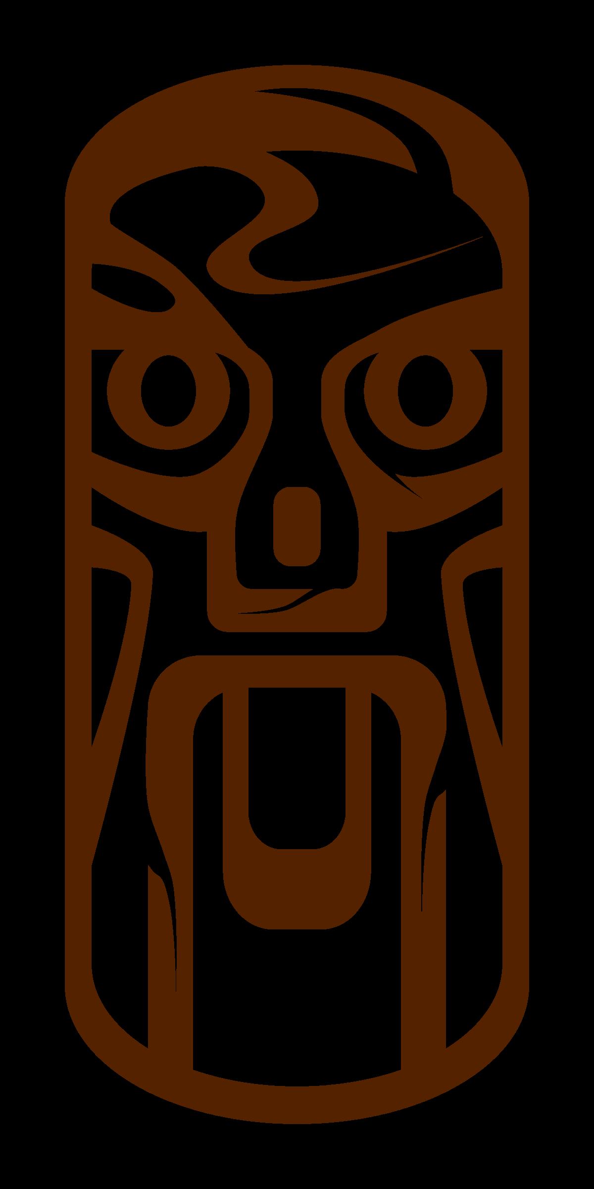 1200x2400 Tiki Sign Clipart