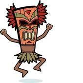 170x170 Hawaiian Tiki Clip Art Tiki Mask Illustrations And Clipart. 101
