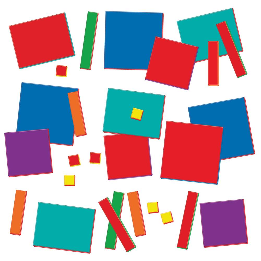 1000x1000 Algebra Tiles Combination Set