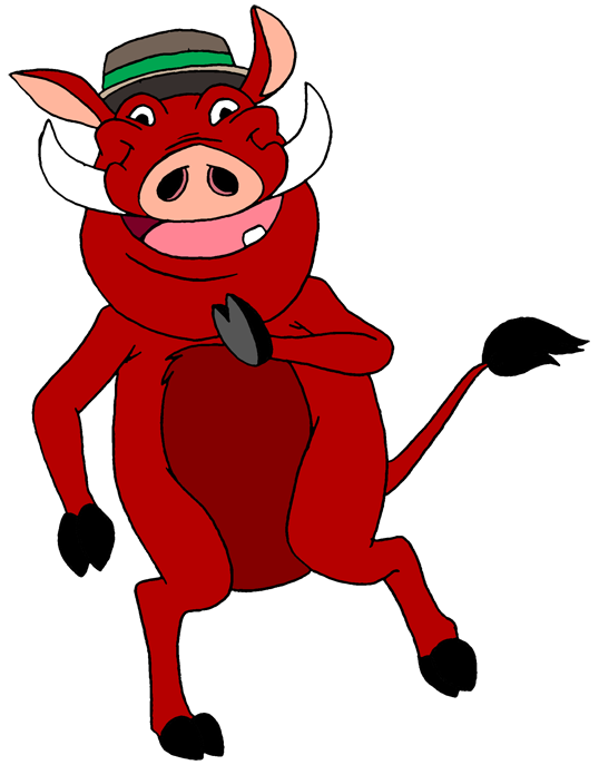 Timon And Pumbaa Clipart