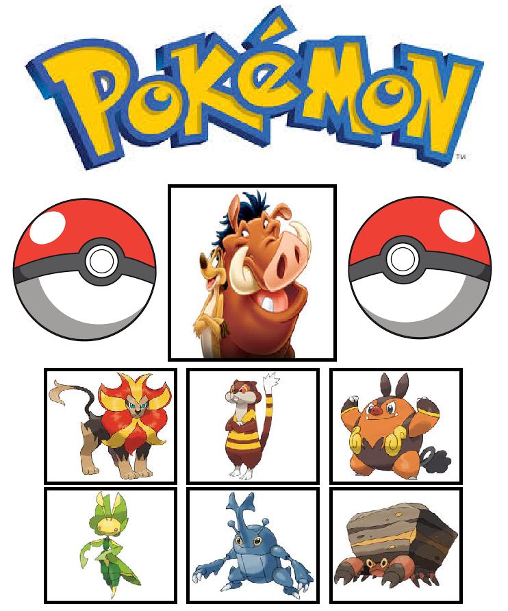 742x892 Pokemon Team (Timon And Pumbaa) By Foxboy614