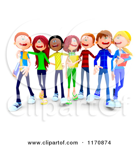 450x470 School Students Clipart Collection