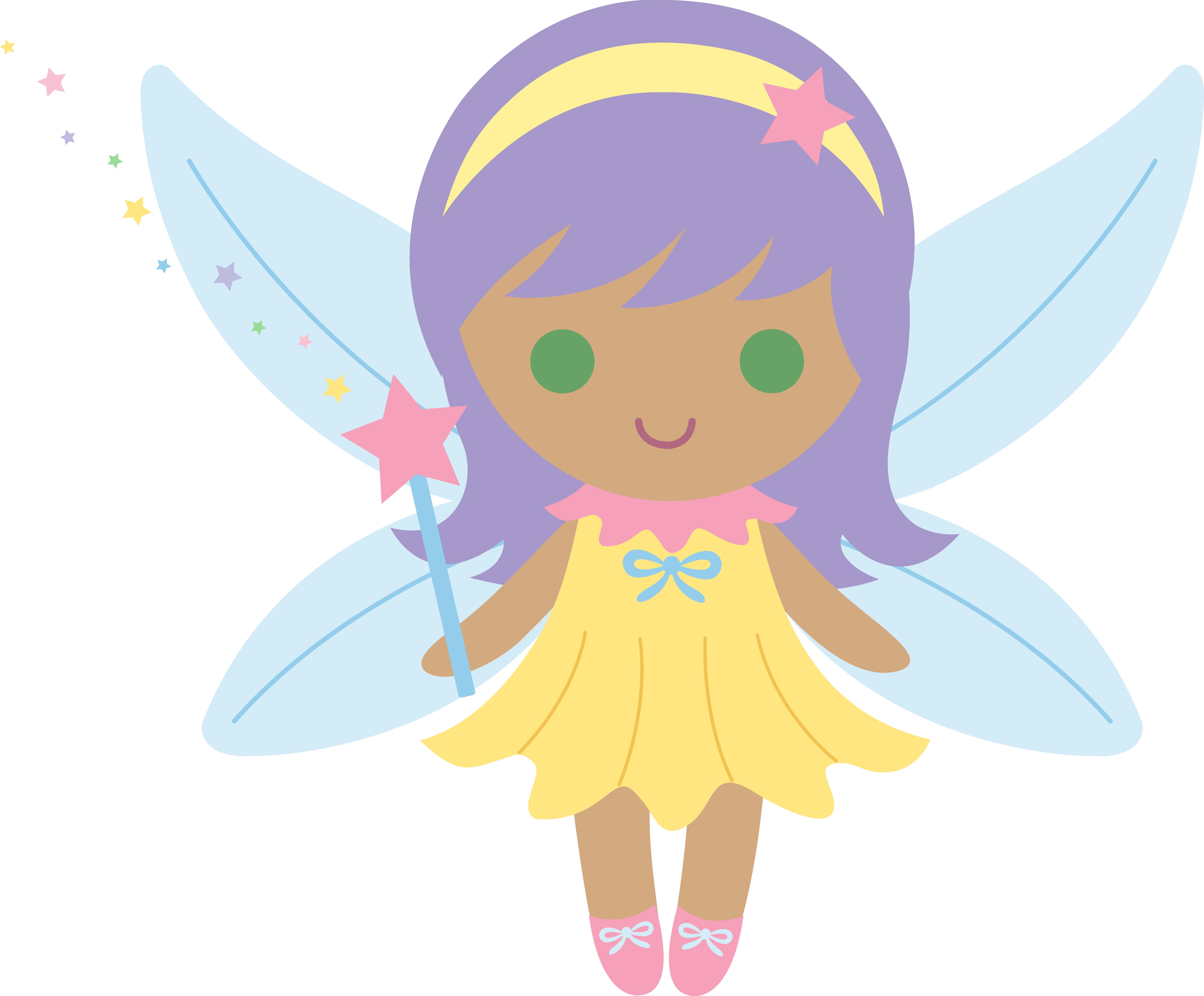 7580x6272 Little Fairy With Purple Hair
