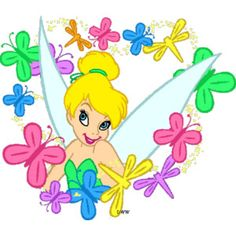 236x236 Easter Tinkerbell Clipart