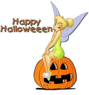 372x400 Disney Halloween Screensavers Tinkerbell Happy Halloween