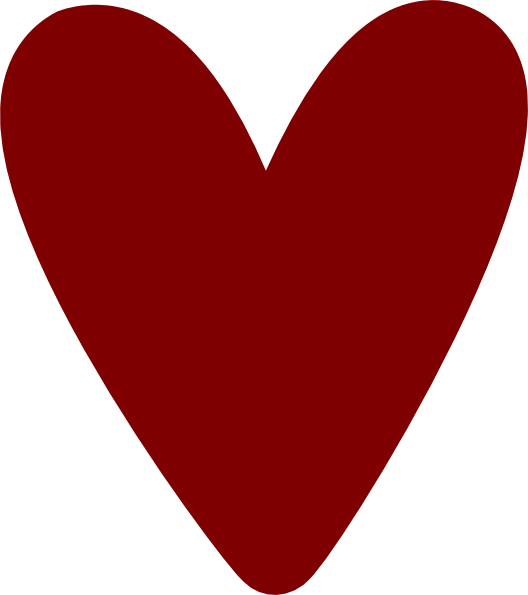 528x595 Tiny Heart Clip Art