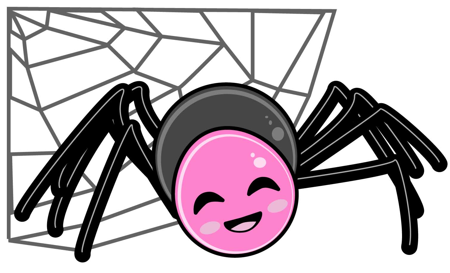 1510x918 Collection Of Cute Spider Clipart Free High Quality, Free