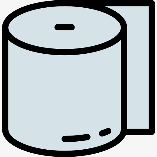 512x512 Tissue, Cartoon, Toilet Paper Png Image And Clipart For Free Download