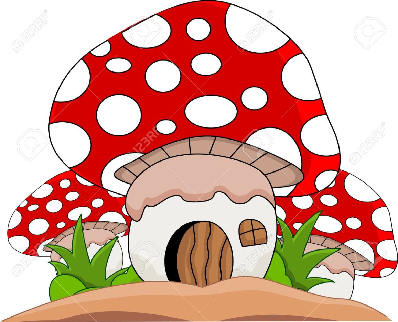 Toadstool Clipart