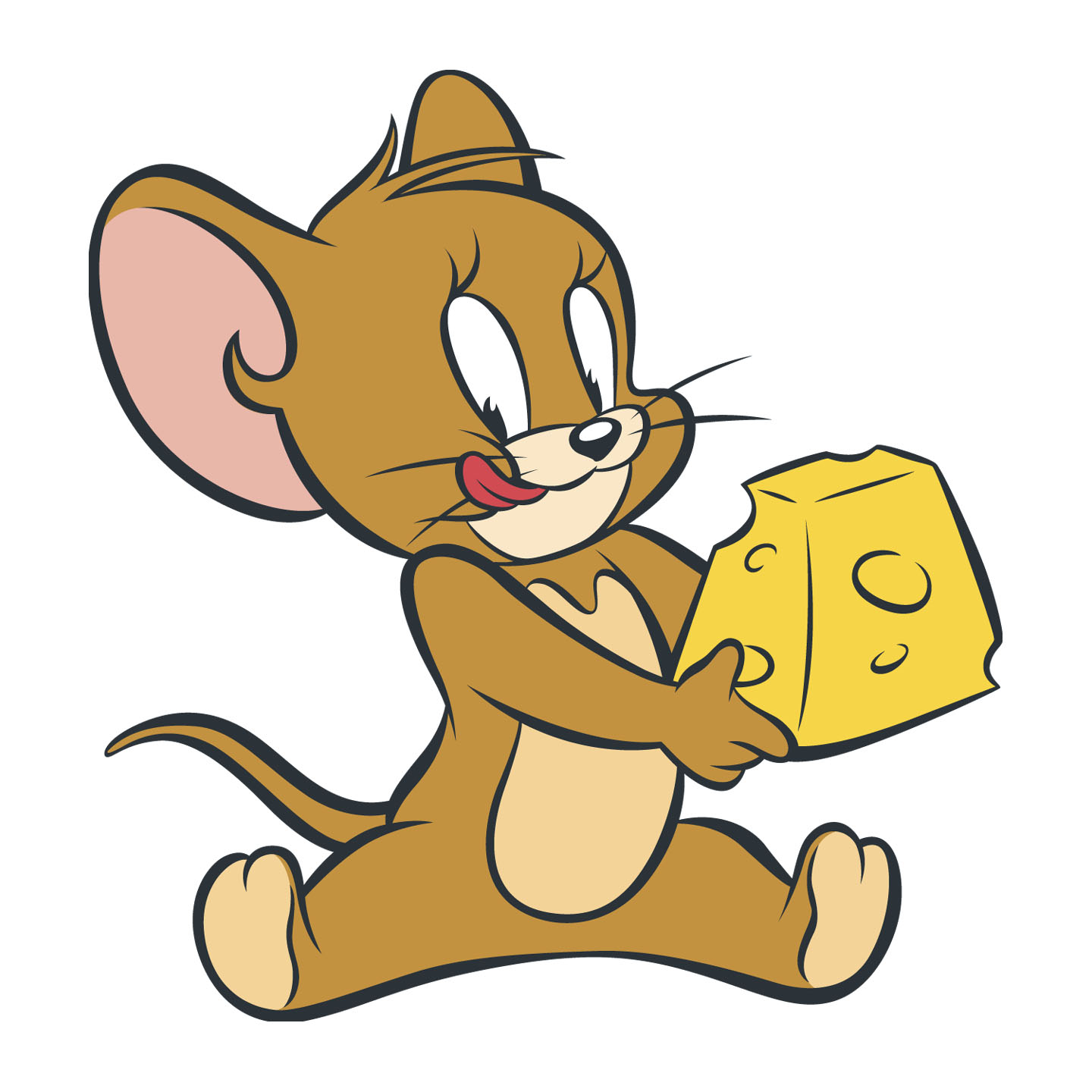 1440x1440 Drawn Cheese Tom And Jerry