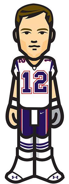 225x600 Tom Brady Patriots W Tyke Sports Tom Brady