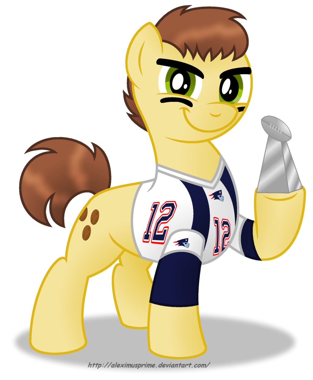 1024x1243 Commission Tom Brady in Equestria by AleximusPrime on DeviantArt