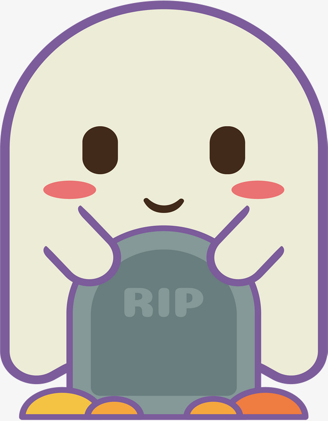 650x834 A Lovely Tomb Ghostly, The Vectorial Png, The Ghost, The Grave Png
